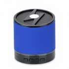 LXBT-01S Portable Mini Wireless Bluetooth V2.1 Speaker w/ Handsfree - Black + Blue