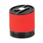 Portable Wireless Bluetooth V2.1 Speaker for Iphone / Ipad / Samsung / HTC / Nokia - Red + Black
