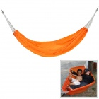 CoolChange Portable Outdoor Camping Hiking Nylon Single Swing Hammock - Orange