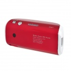 Portable 3G Wireless Wi-Fi Router + Mobile Power Supply - Red