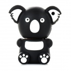 KAU-20 Cute Sitting Koala Shape USB 2.0 Flash Disk - Brown + White + Black (16GB)