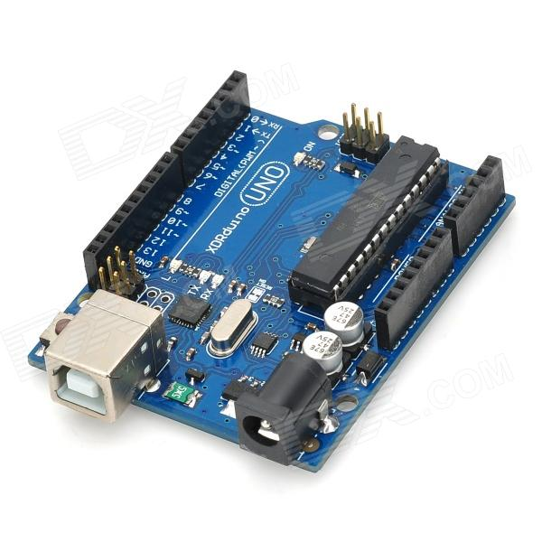 Uno r development board microcontroller for arduino