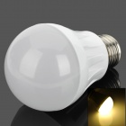 KD-QP-03-5W-NBG E27 5W 240lm 3500K 14-2835 LED Warm White Light Bulb - Milky White