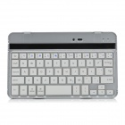 Ultra-thin Bluetooth V3.0 59-Key Keyboard for Google Nexus Tablet - White + Black + Silver