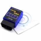 ELM327C Super Mini V1.5 Bluetooth OBD-II Car Auto Diagnostic Scanner Tool - Blue + Black (12V)