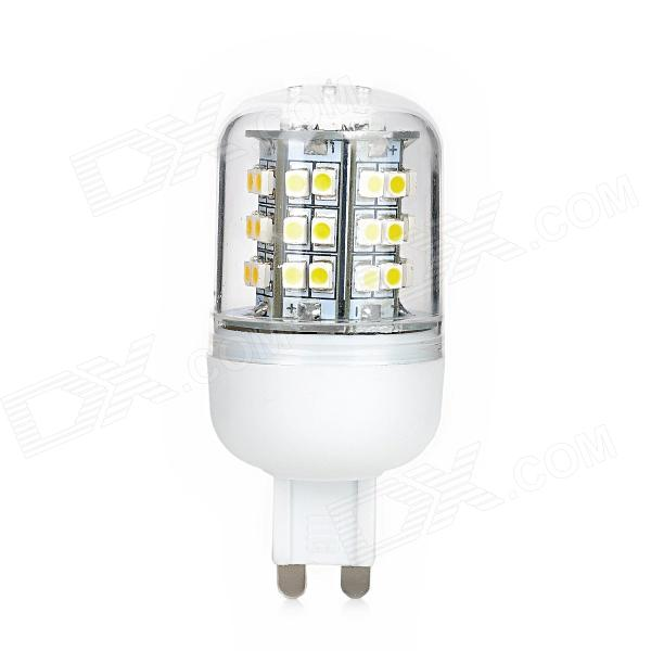 G9 48SMD 140lm Warm White Light LED Bulb Lamp - White + Transparent + Yellow (220V)