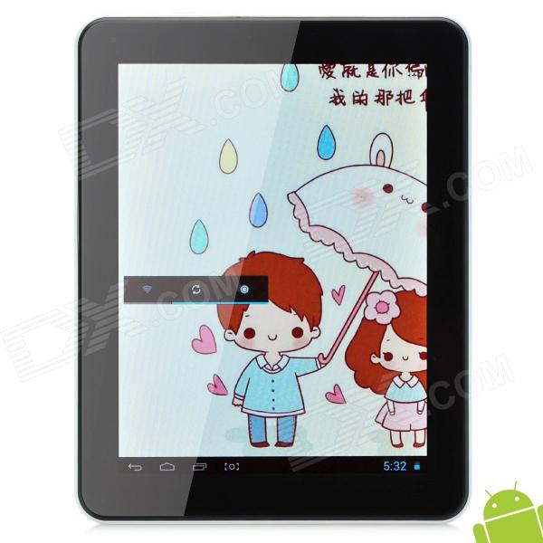 ATM-801-2 8 Capacitive Screen Android 4.1.1 Quad Core Tablet PC w/ TF / Wi-Fi / Camera - Silver