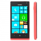 "HUAWEI W13G Windows Phone 8 WCDMA Bar Phone w/ 4.0"" Capacitive Screen, Wi-Fi and GPS - Black + Red"