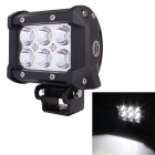 18w 1260lm 6500K Cree XB-D LED Work Light Tube w/ 30 Degree Spot White Light Beam for SUV Cars