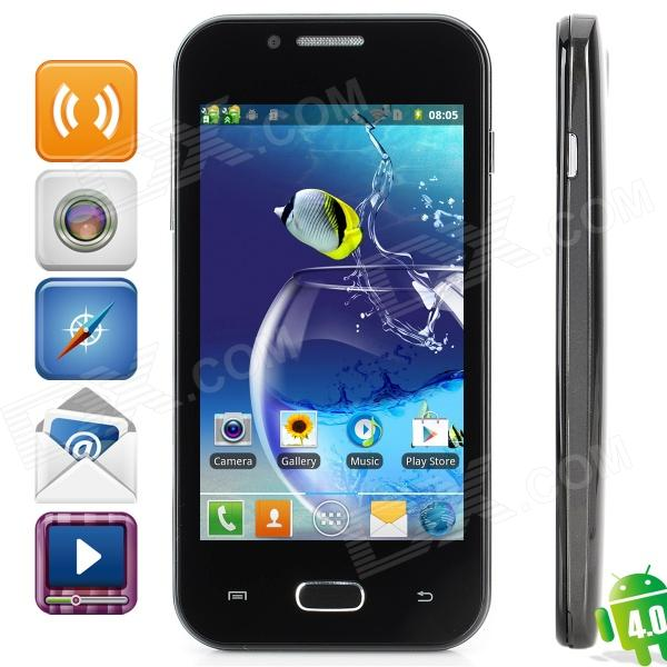 Z7 Dual-Core Android 4.0 GSM Bar Phone w/ 4.0