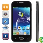 "Z7 Dual-Core Android 4.0 GSM Bar Phone w/ 4.0"" Capacitive Screen, Quad-Band and Wi-Fi - Black"