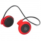 Mini-503 Bluetooth Stereo Headset - Red + Black