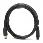 IEEE1394 FireWire 800 to 400 6pin-to-9-pin Cable - Black (1.8m)