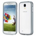 Protective Aluminum Alloy Pulling Bumper Frame for Samsung i9500 - Grey