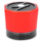 LXBT09S Portable Mini Wireless Bluetooth V2.1 Speaker w/ Mini USB / Handsfree - Black + Red