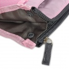Multifunction Nylon + PET Storage Bag / Cosmetic Bag - Pink + Grey