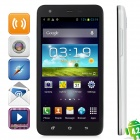 "S2000 Android 4.2 Quad-Core WCDMA Bar Phone w/ 5.0"" Capacitive Screen, Wi-Fi and GPS - Black + White"