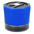 LXBT09S Portable Mini Wireless Bluetooth V2.1 Speaker w/ Mini USB / Handsfree - Black + Blue