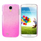 Water Drop Style Ultrathin Protective Plastic Back Case for Samsung Galaxy S4 i9500 - Pink