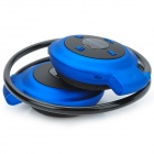 Mini-503 Bluetooth 4.0 Stereo Behind-the-Neck Headphone - Black + Blue