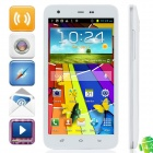 "S2000 MTK6589 Quad-Core Android 4.2.1 WCDMA Bar Phone w / 5,0 ""Kapazitive, Wi-Fi und GPS - Weiß"