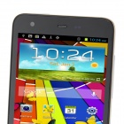 "S2000 MTK6589 Quad-Core Android 4.2.1 WCDMA Bar Phone w/ 5.0"", Wi-Fi and GPS - Black + White"