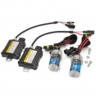 RQ-H11 35W 6000K 3200LM Ultraligero Thin coches HID Xenon White Light Set Lamp - Negro
