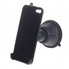 Swivel Suction Cup Car Mount Holder for Iphone 5 - Black