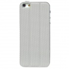 3-in-1 Cool Protective PU Leather Back Sticker Case Protector for Iphone 5 - Grey