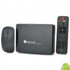 GV25 Dual-Core Android 4.1 Mini-PC Google TV Player w / 1GB RAM / 8GB ROM / LAN / 2.4G Maus - Schwarz