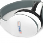 Ditmo DM-4800 Folding Stereo Headphone Headset w/ Microphone for Iphone 5 / 4S / 4 / 3S - White