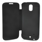 Portable 3200mAh Emergency Battery Charger Back Case for Samsung Galaxy S4 / i9500 - Black