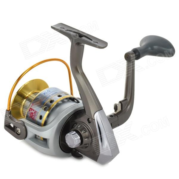 Professional 11-Ball Bearing Spining Fishing Reel - Grey + Silver
