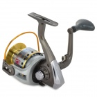 Professional 11-Ball Bearing Spining Fishing Reel - Cinza Prata +
