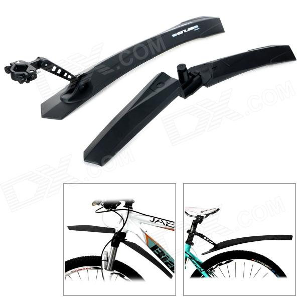 GUB 889F\R Quick Disassembling Fender / Mudguard for Mountain Bicycle / Bike - Black (Pair) motorcycle front mudguard fender rear extender extension for bmw r1200gs