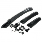 GUB 889F\R Disassembling Fender / Mudguard for Bike - Black (Pair)