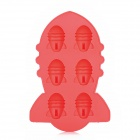 Missile Style Silicone Ice Cubes Trays Maker DIY Mould - Red