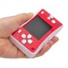 "2.5"" Handheld Game Console w/ Speaker / Built-in Games - Red + White (256M / 3 x AAA)"