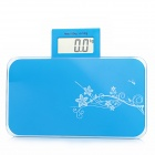 "MD610 Portable 2.5"" LCD Digital Body Weight Scale - Blue (1 x CR2032)"