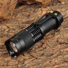 RUSTU 6003 Cree XP-E R2 300lm 3-Mode Neutral White Zooming Flashlight - Blue (1 x 14500)