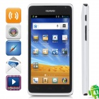 "HUAWEI C8813 Android 4.0 CDMA2000 Bar Phone w/ 4.5"" Capacitive Screen, Wi-Fi and GPS - White + Black"