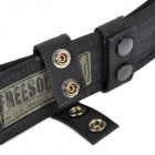 FREE SOLDIER Adjustable Military Tactical Outdoor Camping Chinlon Belt - Black