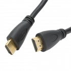 Gold-Plated HDMI 1.4 Male to Male High Definition Video Audio Cable - Black (14.5m)