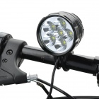 UltraFire XL-2000T 2700lm 3-Mode White Bike Bicycle Headlamp w/ 6 x Cree XM-L T6 - Black (6 x 18650)