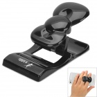 U-dilis Cute Compact Bowknot Style Multifunction Holder / Back Clip for Iphone / Cellphone - Black