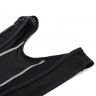 NUCKILY Men's Quick-dry Wear-resisting Suspender Cycling Bib Braces Pants - Black (Size L)