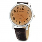 WoMaGe 9288 Women's Stylish Retro Analogue Quarts Wrist Watch - Brown (1 x AG3)