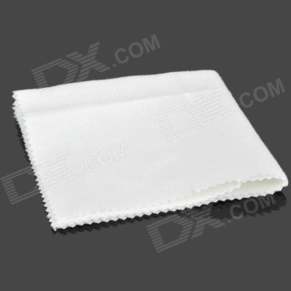 Multifunction Anti-static Fiber Cleaning Cloth for Mobile Phone / Ipad / Mirror - White