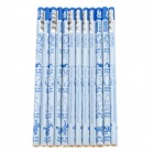 M&G	FWP34701 Cute Cartoon Animal Pattern Hexagonal Pencil - Blue (12 PCS)