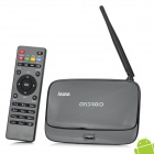 Jesurun DX05 Dual-Core Android 4.1.1 Mini-PC Google TV Player w / 1GB RAM / ROM 4GB / RJ45 / EU Stecker